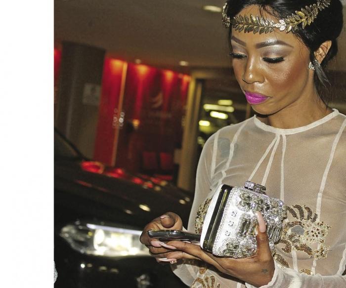 Kelly Khumalo Nails Sangoma Fiance Entertainment Sa