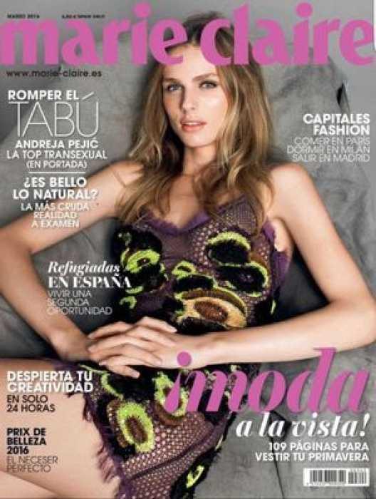 Transgender Female Model Scores Industrys First Magazine