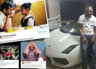 Memes: Twitter roasts #ORTamboHeist suspect over Lamborghini purchase!