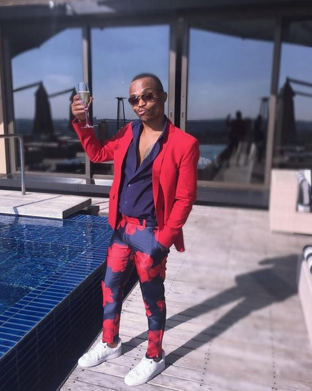Riky Rick Shaded On Living The Dream With Somizi