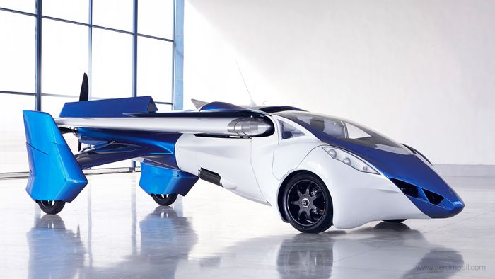 Check this out: this is no science fiction, this is truly the dawn of flying cars!