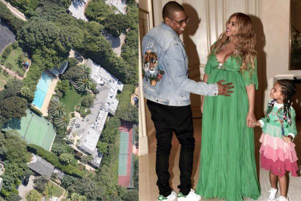 Home delivery: Bey and Jigga are reportedly installing a $1 million maternity unit in their Hollywood home.