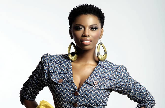 Pics: Lira schools us on how to dress with her black and white fashion diary.