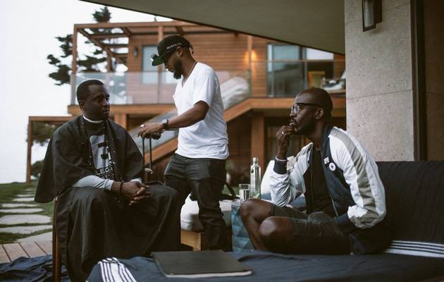 Might DJ Black Coffee and Diddy be cooking up the biggest hit of the century with Cassie?