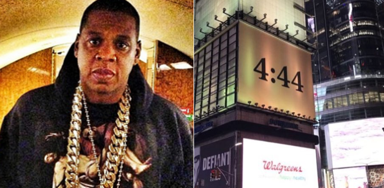 Jay Z's 13th studio album, 4:44 has officially dropped.