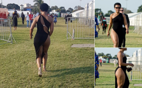 Social media goes Issa Savage on Zodwa Wabantu's outfit at this year's #DurbanJuly!