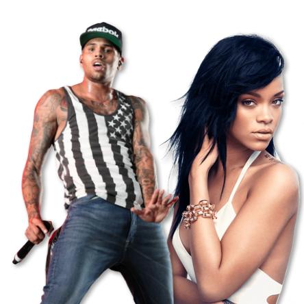 Oh no! Chris Brown still got the hots for Rihanna.