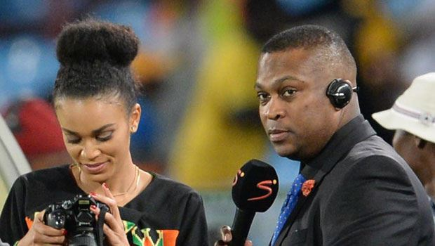 This is serious! Pearl Thusi deletes Robert Marawa's pics on Instagram
