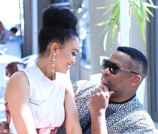 Fans go awol after Robert Marawa announces split from Pearl Thusi!
