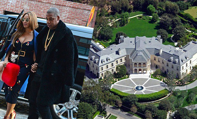 No! This is not a town, this is actually Beyoncé and Jay-Z's new crib!