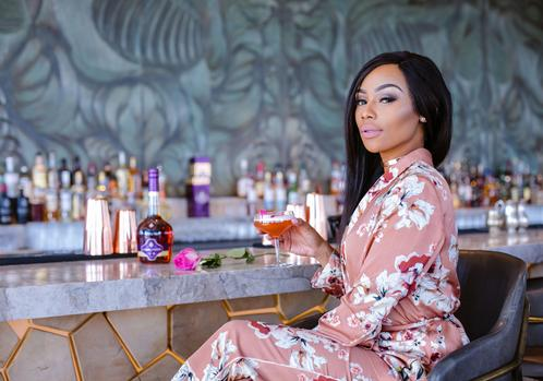 Bonang creates her very own cocktail to quench your thirst.