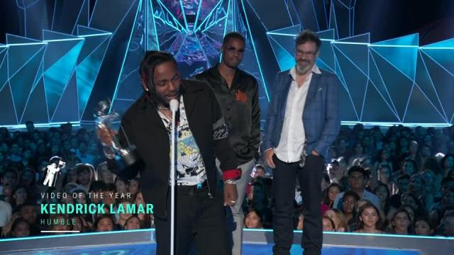 Kendrick Lamar's big win and the full list of winners at the MTV VMA's.