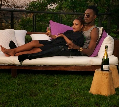 Proud-father-to-be: Patoranking and his girl expecting first child!