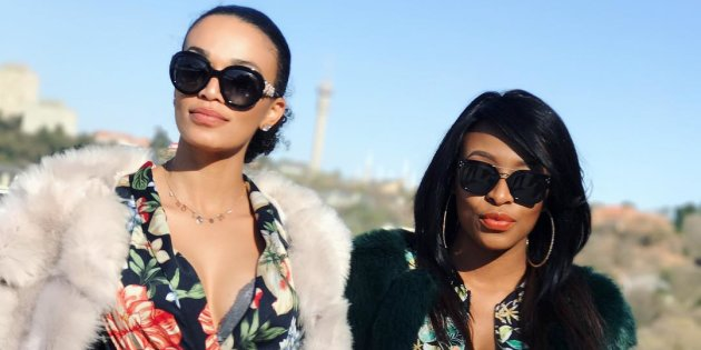 Have you tried the DJ Zinhle & Pearl Thusi challenge?