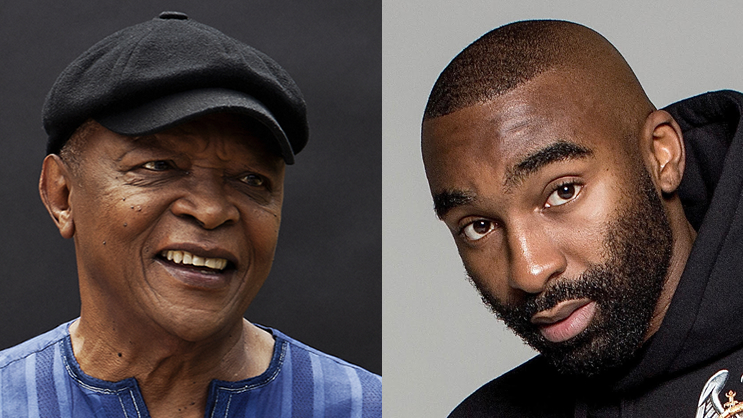 Hip-hop (Riky Rick) meets Jazz (Hugh Masekela) for a collaboration