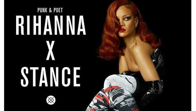 Rihanna's face-printed socks hit the market!