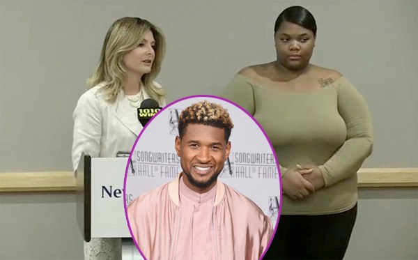 Usher's herpes accuser sings a different tune!