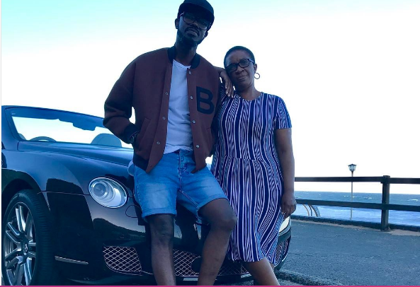 DJ Black Coffee surprises his mom with a new Mercedes-Benz GLC SUV!