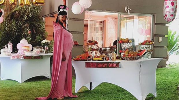 Everything was pink and glamorous at Samkelo Ndlovu's baby shower, check it out!