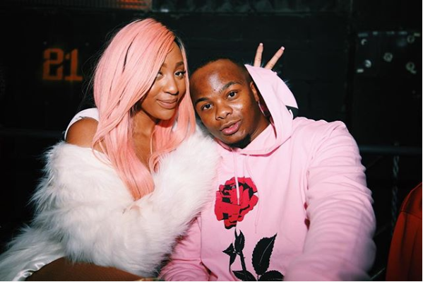 Confirmed! Nadia Nakai and Major League DJz' Bandile Mbere are an item.