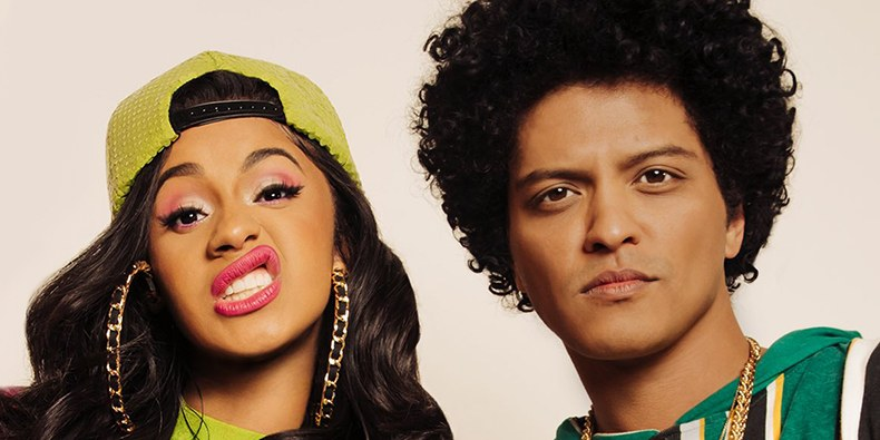 It's going to be lit! Bruno Mars and Cardi B to perform at the Grammys this month!