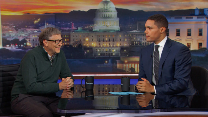 Bill Gates publicly declares his love for Trevor Noah!