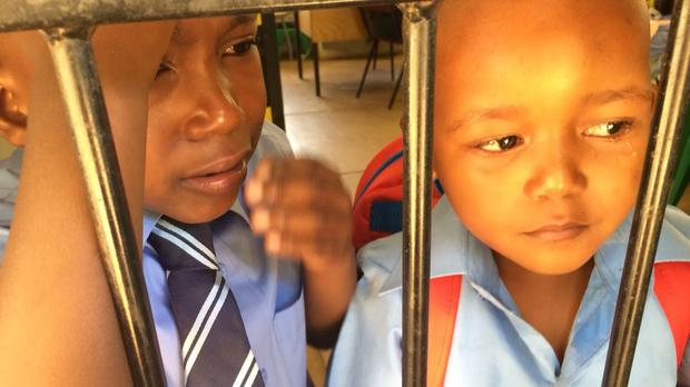 Watch: First day of school is always a struggle!