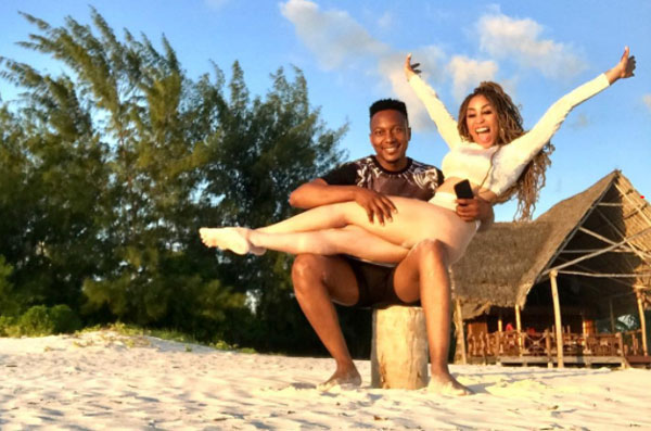 Khanyi Mbau and Tebogo Lerole MIGHT'VE patched things up!