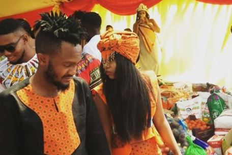 In pics: Kwesta and Yolanda's colorful Umbondo ceremony