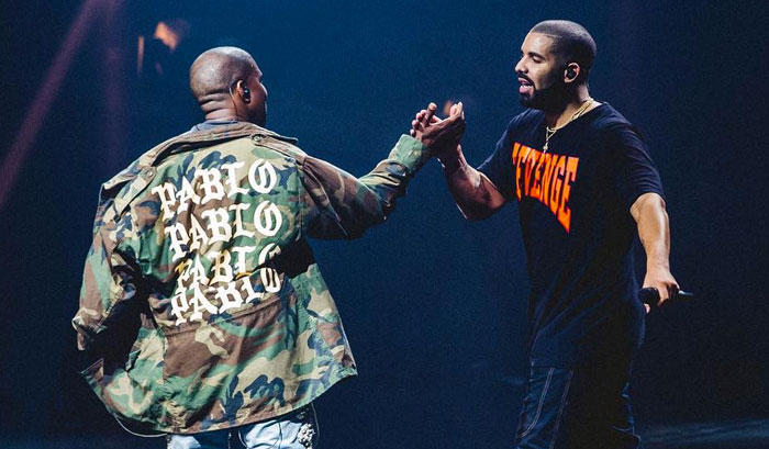 Kanye West and Drake reportedly working on a new banger collaboration!