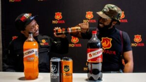 DJ Sbu takes MoFaya brand to another level with new range of soft drinks!