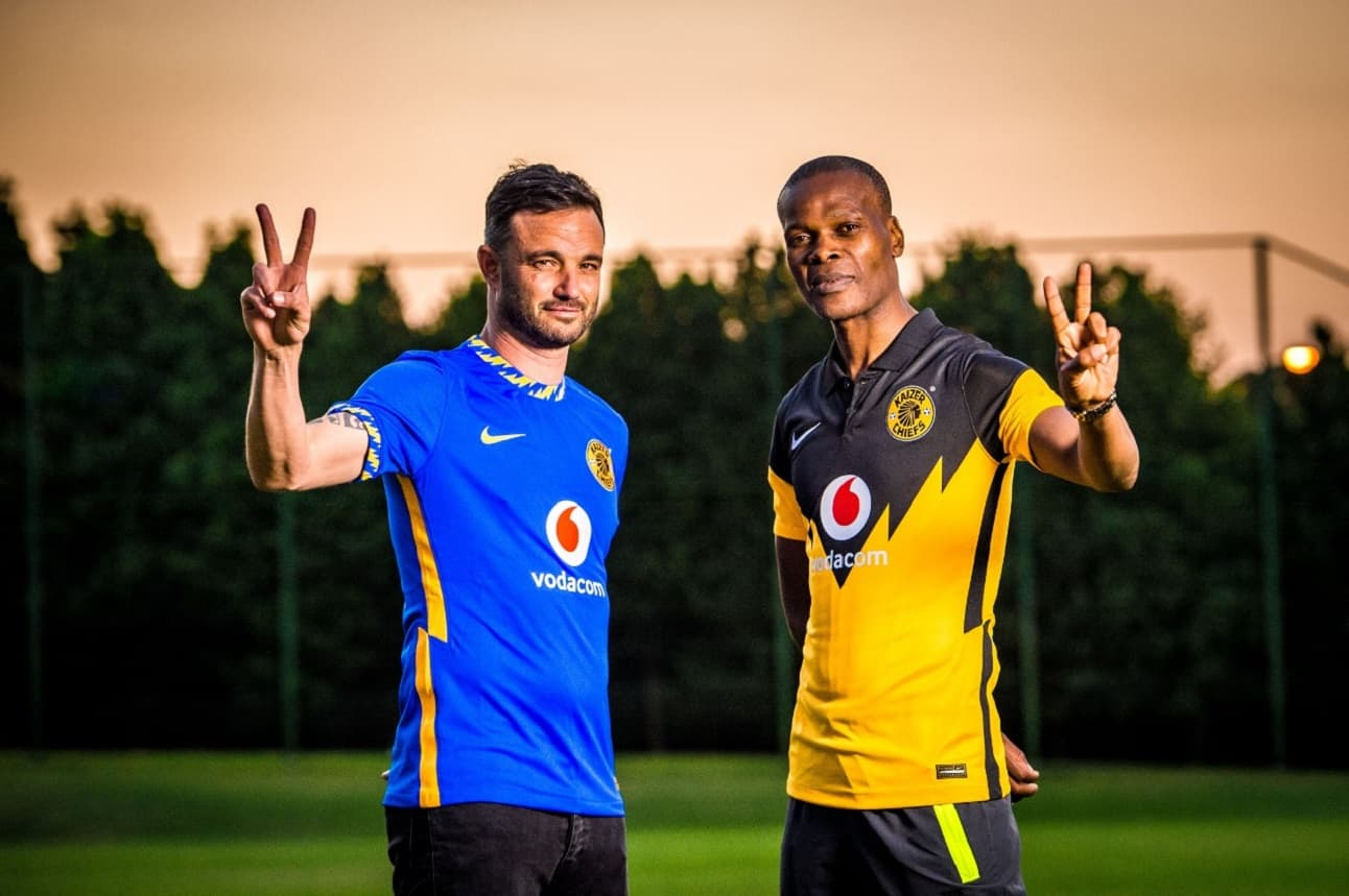 The Kaizer Chiefs 2020-21 jerseys make a mean heritage statement