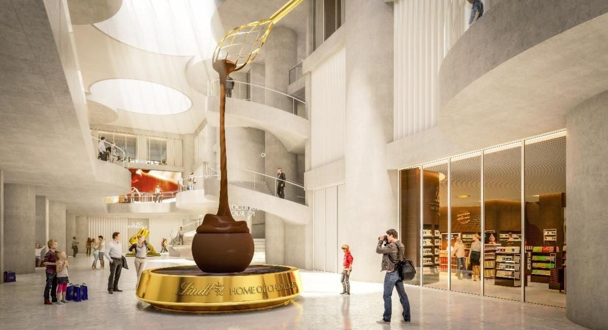 Lindt's Home of Chocolate attraction in Zurich will take your breath away