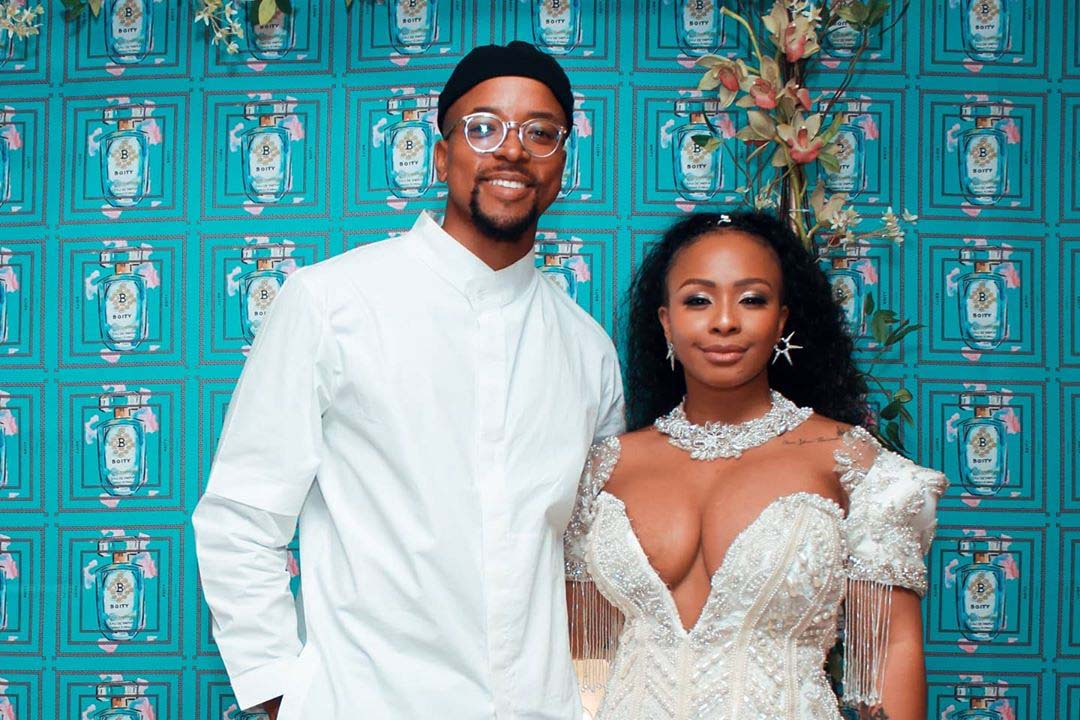Maps Maponyane can't hold his excitement over Boity's success