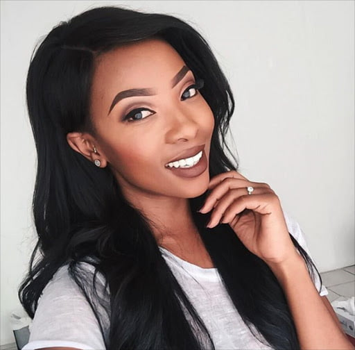 Pearl Modiadie is officially a mother!