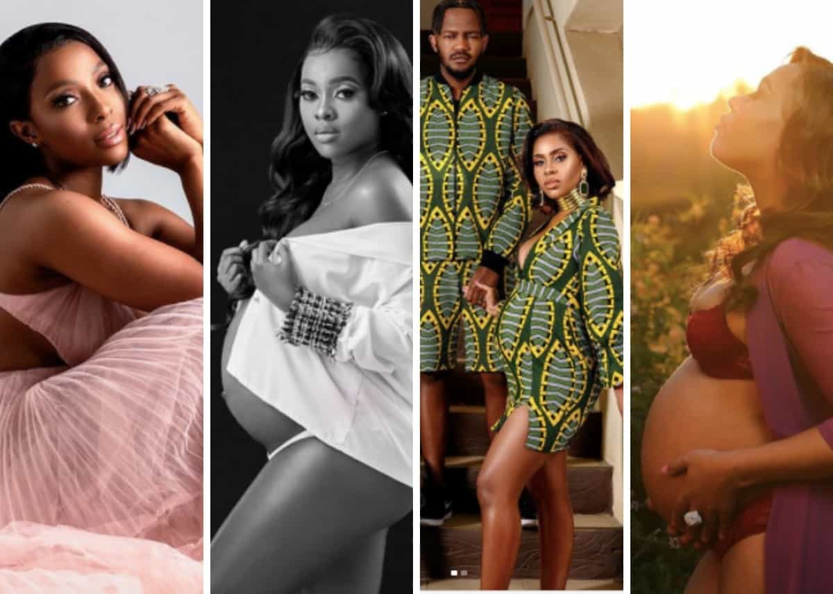 From Minnie Dlamini to Cassper Nyovest - here are our 6 lockdown celeb pregnancies that took us by surprise