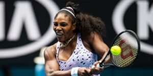 Serena Williams cheers herself to victory with no fans at US Open