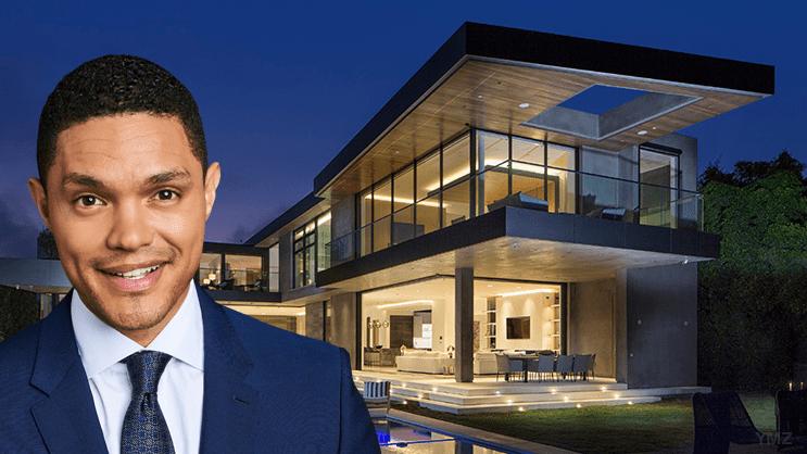 Trevor Noah's Los Angeles mansion sells for R351 million