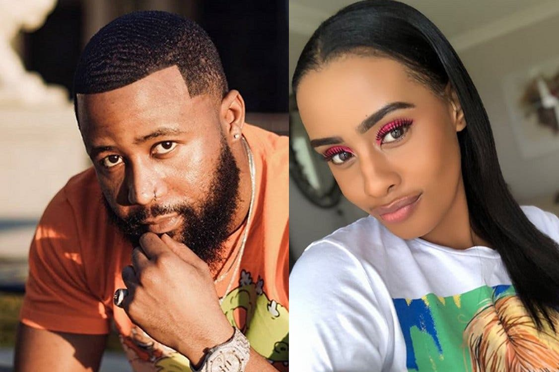 [See] Cassper Nyovest's newborn baby already has a record deal waiting for him at Ambitiouz!