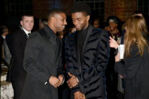 Michael B. Jordan, Lupita N'yongo and other 'Black Panther' costars attend Chadwick Boseman's memorial service