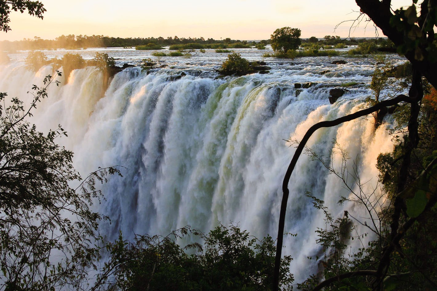 Victoria Falls: a place to be during alert level 1