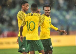 Bafana Bafana reveals their new kits