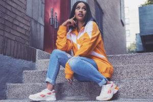 Cardi B reveals her Reebok x Cardi Footwear Collection
