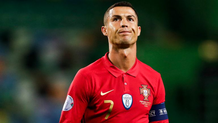 Portuguese soccer star, Cristiano Ronaldo tests positive for Coronavirus