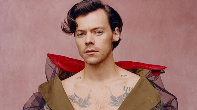 Harry Styles makes history and becomes Vogue's first ever solo male cover star