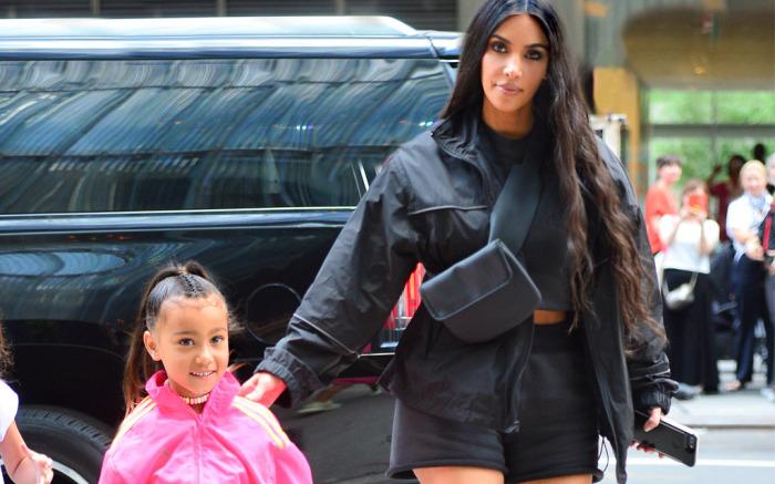North West shines in her mom Kim Kardashian's new Skims campaign