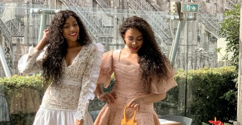 Our fave celebrity twins, Blue and Brown Mbombo celebrate their 31st birthday