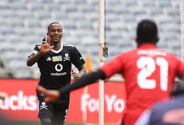 Thembinkosi Lorch leads Orlando Pirates to victory in Angola
