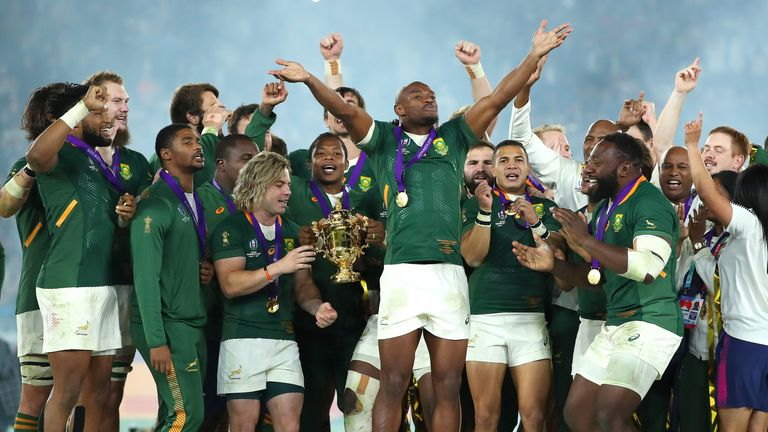 Springboks remain at first place without playing even one test