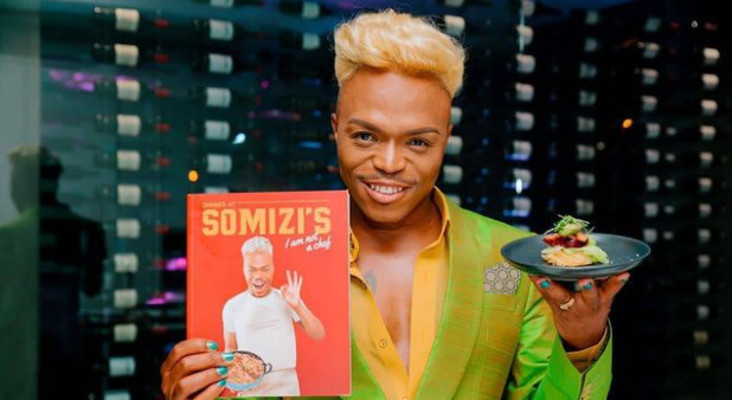 Somizi Mhlongo's New Year's resolution revealed